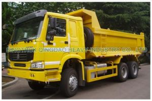 HOWO 6X4 Dump Truck with U Type Cargo Box (ZZ3257N3847) pictures & photos