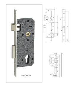 High Security Door Lock Cylinder, Mortise Lock Cylinder pictures & photos