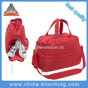 Lady Sports Fitness Outdoor Shoulder Shoes Travel Bag pictures & photos
