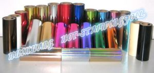 Generic Hot Stamping Foils pictures & photos