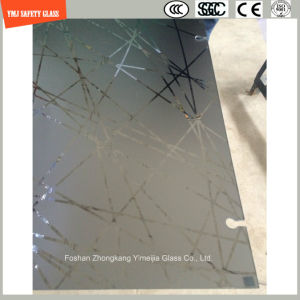 4-19mm Silkscreen Print/No Fingerprint Acid Etch/Frosted/Pattern Tempered/Toughened Glass for Shower, Bathroom in Hotel and Home with SGCC, Ce Certificate pictures & photos