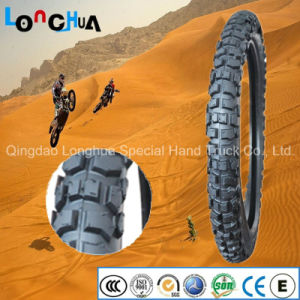 High Natural Rubber Percent 6ply Motorcycle Tire for Egypt pictures & photos