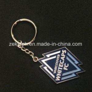 Zinc Alloy Metal Soft Enamel Souvenir Keychain pictures & photos