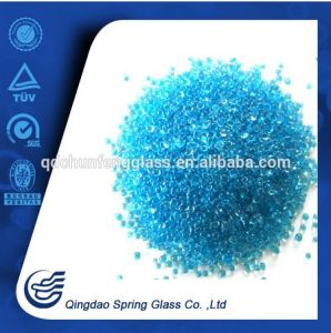 Sea Bule Glass Beads for Swimming Pool Decorative pictures & photos