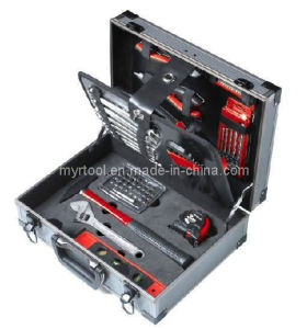 Hot Sale-63PCS Kraft Tool Set in Aluminium Case (FY1063A) pictures & photos