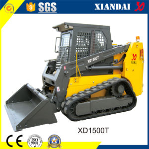 1500kg 0.55cbm Tracked Skid Steer Loader for Sale pictures & photos