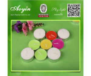 Wholesale Candle Price 14G Unscented Tealight Candle pictures & photos
