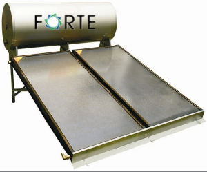 Advanced Flat Plate Solar Hot Water Heating Panel Collector pictures & photos