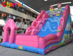 Hot Selling Cheap Pink Inflatable Slide pictures & photos