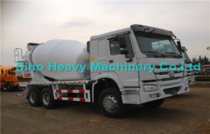 20 Cbm HOWO 6X4 Self Loading Concrete Mixer Truck with Italy PMP Pump pictures & photos