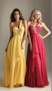 2013 New Style Chiffon Popular Red Long Evening Dress (ED13003) pictures & photos