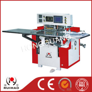 Automatic Soft Handbag Loop Wielding Bag-Making Machine pictures & photos