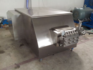 Food Sanitary Stainless Steel Dairy Homogenizator pictures & photos