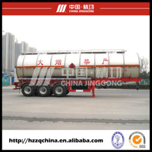 42500L Carbon Steel Q345 Tank Trailer, Chemical Tank Trailer (HZZ9407GHYB1) pictures & photos