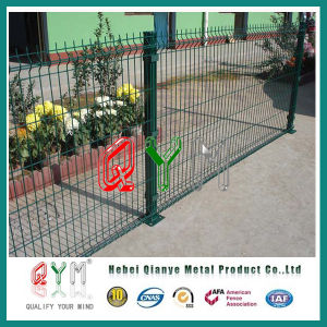 Welded Mesh Fence/Qym/10years Quality Warranty/Hot-DIP Galvanized Finishing/60post pictures & photos