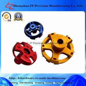 Aluminum CNC Machining for Brushless Motor Cover (LZ001)