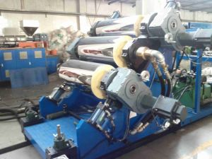 Three Layers Pet Sheet Co-Extrusion Machine pictures & photos