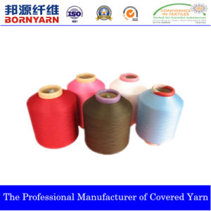 Spandex Nylon Covered Yarn Produced by Qingdao Bangyuan pictures & photos