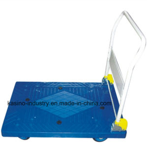 High Quality Folding Plastic Platform Hand Truck/Hand Trolley Cart Model pH300p pictures & photos
