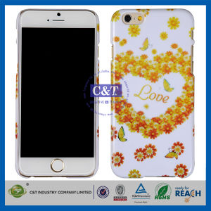 C&T Flower Heart Design Hard Back Cover for iPhone 6 pictures & photos
