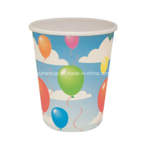 12oz Sell Kraft Single Wall Paper Cups for Coffee in Various Sizes (YHC-033) pictures & photos