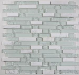 Ice Crack Glass and Stone Mix Mosaic pictures & photos