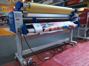 Electric Auto Wide Format Cold Laminator with Cutter pictures & photos