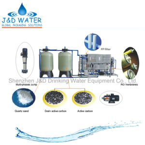 Reverse Osmosis Pure Water Treatment Equipment with Ce Certificate pictures & photos