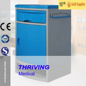Hospital ABS Economic Bedside Cabinet (THR-CB403) pictures & photos