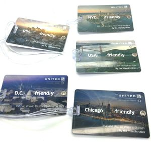 Travel Agency Airline PVC Luggage Tag with Signature Panel pictures & photos