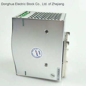 HDR-120 Single Output Industrial DIN Rail Power Supply 88-132 VAC/176-264VAC AC to DC 12V 10A pictures & photos