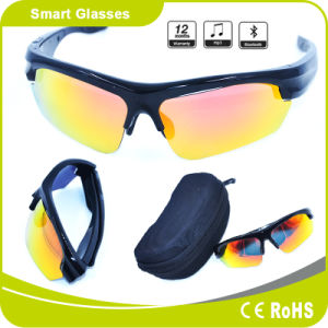 2017 New Model Fashion Smart Bluetooth Sport Sunglasses pictures & photos