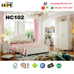 Home Furniture Korean Style Wooden Bedroom Furniture (A102) pictures & photos