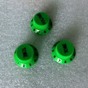 Sell Guitar Knobs for Strat Guitar Green Color pictures & photos