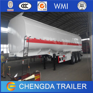 Fuel Tanker Trailer 45000L Stainless Steel Oil Tank Semi Trailer for Sale pictures & photos