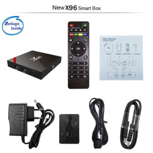 X96 Amlogic S905W Quad Core IPTV Android 7.1.2 Set Top Box with WiFi Bluetooth TV Box pictures & photos