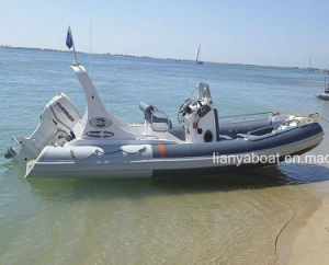 Liya 6.2m Rib Inflatable Boat Hypalon Rib Boat Yacht Sale pictures & photos