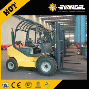 Yto 2.5 Ton Rough Terrain Forklift Truck Cpcd25 Diesel Forklifts pictures & photos