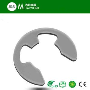 Zinc Steel E Shaped Cerclip Lock Retaining Washer (DIN6799) pictures & photos