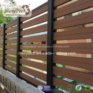 Adorable Aluminium and WPC Composite Garden Fence pictures & photos