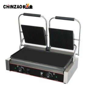 Professional Manufactrer Commercial Double Head Panini Grill Toaster pictures & photos