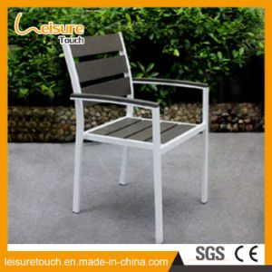 2017 Aluminum Modern Chair Table Bistro Set Leisure Garden Dining Aluminum Outdoor Furniture pictures & photos