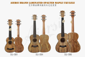 Aiersi Soprano Spalted Maple Ukulele Miniature Instruments pictures & photos