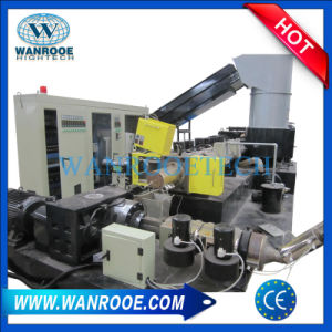 Pnhs Waste Recycle Double Stage PP PE Plastic Film Granulator Machine pictures & photos