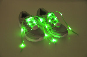 Nylon LED Lighting Party Shoelace pictures & photos