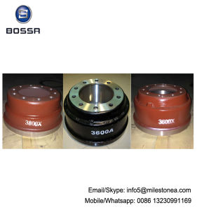 China Manufacturer Truck and Trailer Axle Parts Brake Drum 3600A 3600ax 3600X pictures & photos