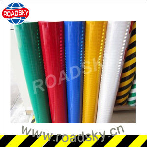 High Visibility Glass Microspheres Economic Grade Reflective Sheet pictures & photos