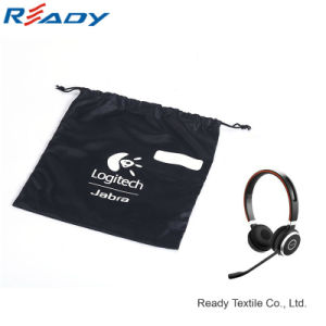190t Nylon Drawstring Pouch for Earphone pictures & photos