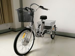 3 Wheel Electric Tricycle for Older People pictures & photos