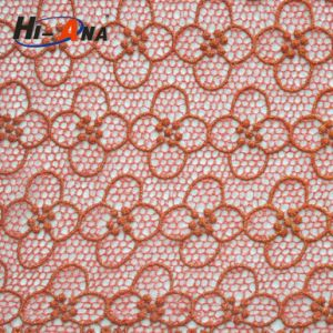 Hot Products Custom Design Multi Color Fabric with Rhinestones pictures & photos